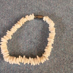 None Jewelry - White shell bracelet